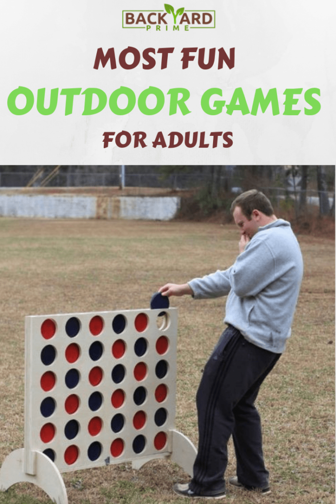 Top 10 Most Fun Outdoor Games for Adults to DIY and Play in Your Backyard 11
