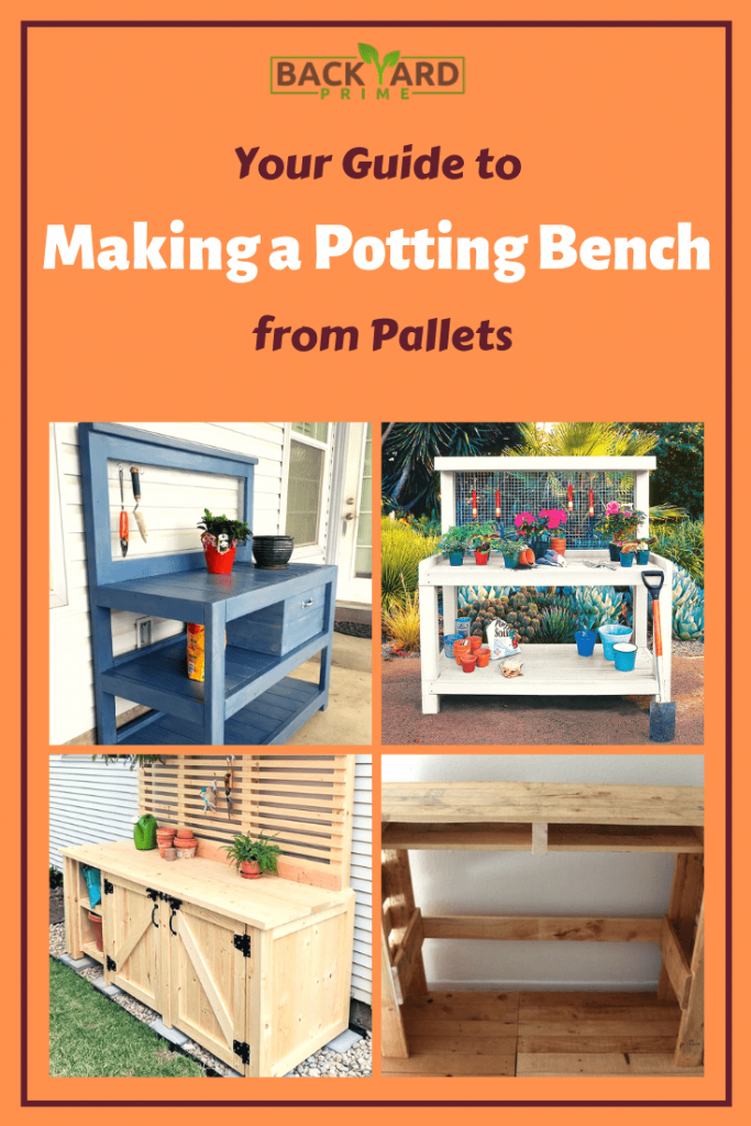 A Simple Guide to Making a Potting Bench from Pallets [DIY] 10