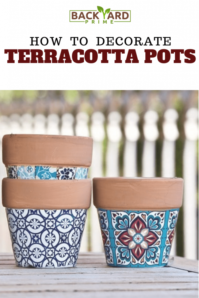 How to Decorate Terracotta Pots & Terra Cotta Planters? 10