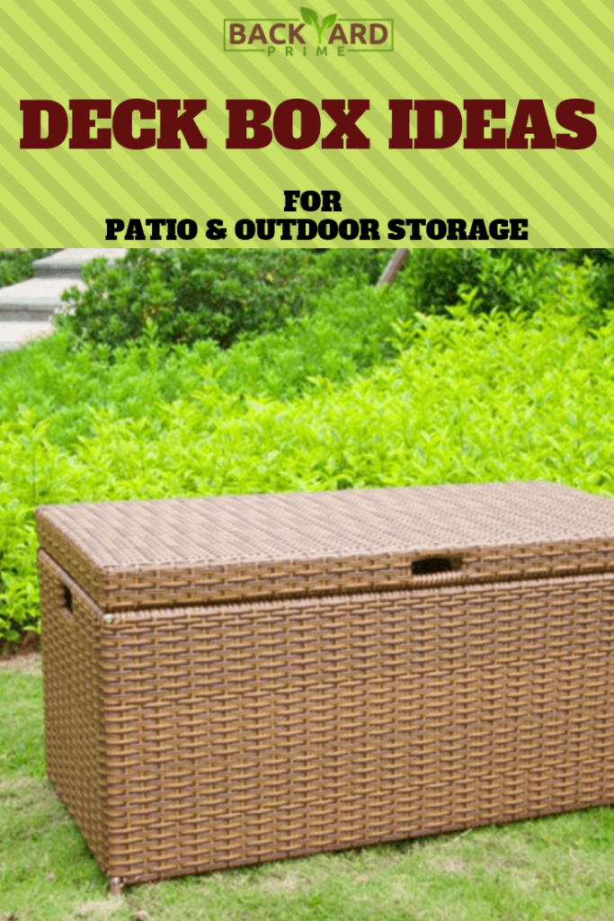 Deck Box Ideas for Patio & Outdoor Storage 7