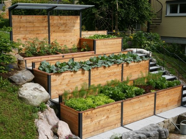 Amazing Sloped Garden Ideas & Tips 7