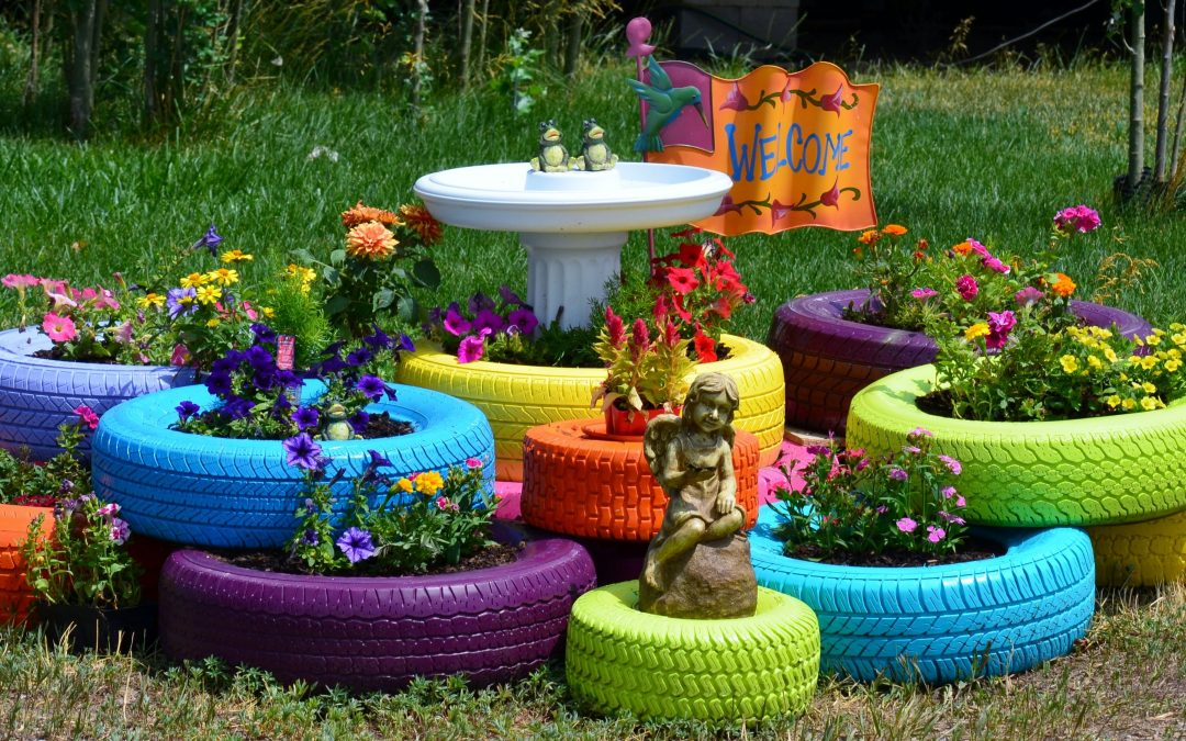 10 Fabulous Tyre Planters Ideas To DIY