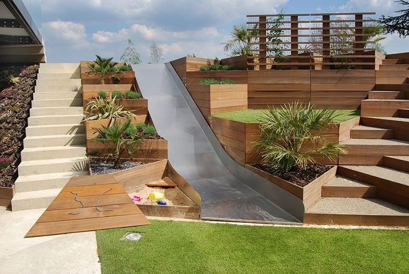 Amazing Sloped Garden Ideas & Tips 1