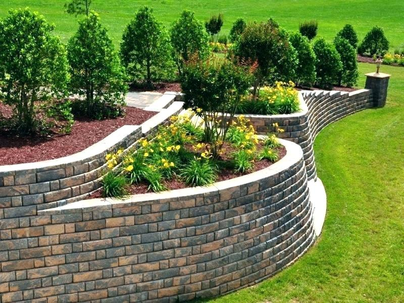 sloped garden ideas esay
